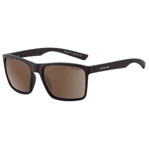 Slnečné okuliare DIRTY DOG Droid Satin Brown/Brown Polarised Hnedá