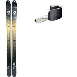 Skialpinistický set Volkl Rise 80 s pásmi Čierna 155 cm
