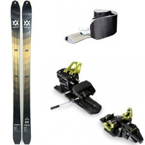 Skialpinistický set Volkl Rise 80 s pásmi a viazaním 165 cm S pásmi a viazaním