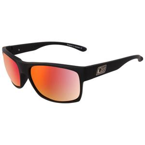 Slnečné okuliare DIRTY DOG Furnace Satin Black Gray/Red Fusion Polarised Čierna