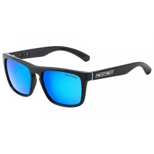 Slnečné okuliare DIRTY DOG Monza Black Green/Ice Blue Polarised Čierna