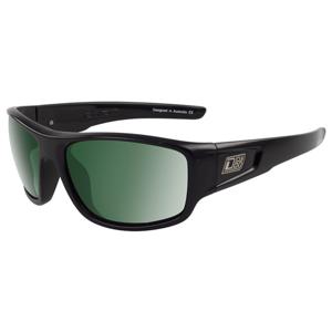 Slnečné okuliare DIRTY DOG Muffler Black/Green Polarised Čierna