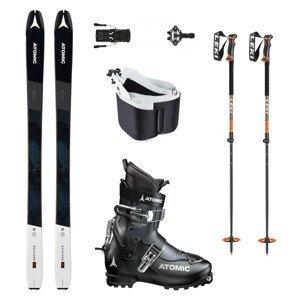 Skialpový set ATOMIC Backland 85 + viazanie + pásy + obuv + palice 158 cm 25.0/25.5