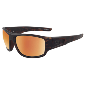 Slnečné okuliare DIRTY DOG Muffler Satin Tort-Brown/Gold Fusion Polarised Hnedá