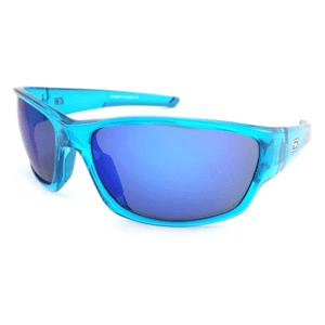 Slnečné okuliare DIRTY DOG Sport Chain Crystal Blue Grey/Blue Fusion Mirror Modrá