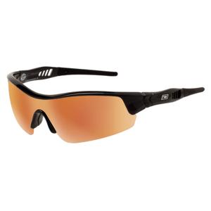 Slnečné okuliare DIRTY DOG Sport Edge Black Gray/Gold Fusion Mirror Čierna