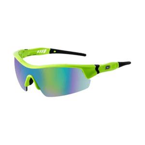 Slnečné okuliare DIRTY DOG Sport Edge Fluro Green/Green Fusion Mirror Zelená
