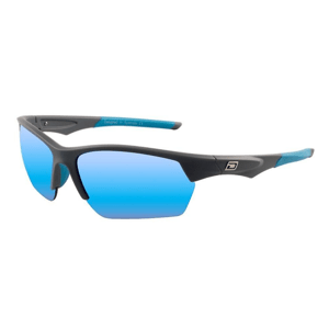 Slnečné okuliare DIRTY DOG Sport Track Satin Silver Grey/Ice Blue Mirror Polarised Sivá