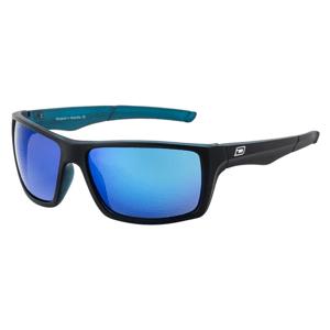Slnečné okuliare DIRTY DOG Primp Satin Black Crystal Blue Grey/Blue Fusion Mirror Polarised Čierna
