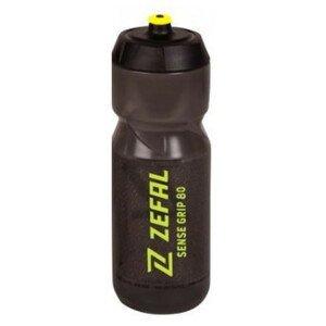 Športová fľaša ZEFAL Sense Grip 800 ml Black/Yellow Čierna
