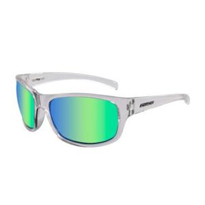 Slnečné okuliare DIRTY DOG Shock Crystal Green/Green Fusion Mirror Polarised Transparentná
