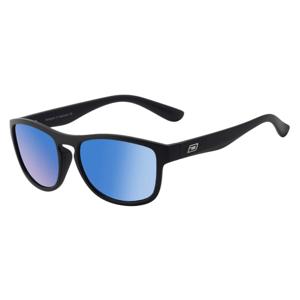 Slnečné okuliare DIRTY DOG Venturer Satin Black Grey/Ice Blue Mirror Polarised Čierna