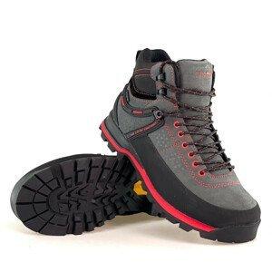Turistická obuv HIGH COLORADO Piz High Vibram Sivá 44