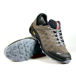 Trekingová obuv HIGH COLORADO Crest Trail Vibram Anthrazit/Black Sivá 45