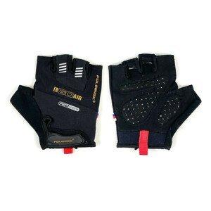 Cyklistické rukavice POLEDNIK Ergoair Čierna M