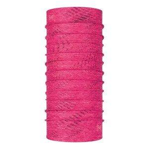 Multifunkčná šatka BUFF Coolnet UV+ Reflective Pink Ružová