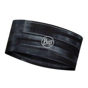 Čelenka BUFF Reflective Fastwick Headband Barriers Graphite Čierna