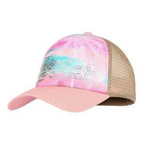 Šiltovka BUFF Trucker Cap Kids Zina Pink Ružová