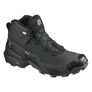 Topánky SALOMON Cross Hike Mid GTX Black/Ebony Čierna 47 1/3