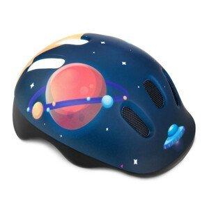 Detská prilba Space s otočným uťahovaním Modrá 52-56 cm