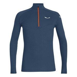 Tričko SALEWA Sennes Dry M Blue Modrá XL