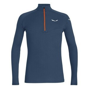 Tričko SALEWA Sennes Dry M Blue Modrá XXL