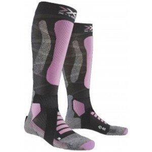 Podkolienky X-SOCKS Ski Touring Silver 4.0 Pink Ružová 37-38