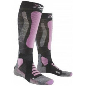 Podkolienky X-SOCKS Ski Touring Silver 4.0 Pink Ružová 41-42