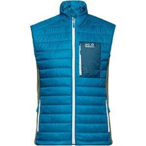 Pánska vesta JACK WOLFSKIN Routeburn Blue  Modrá XXL