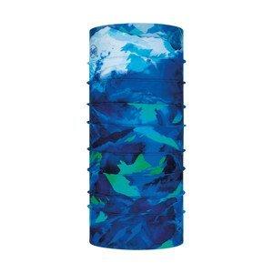 Detská multifunkčná šatka BUFF High Mountain Blue Modrá UNI