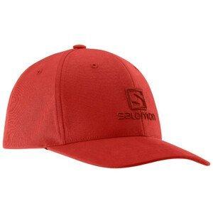 Šiltovka SALOMON Logo Cap Red Červená UNI
