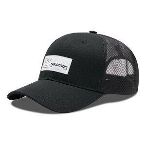 Šiltovka SALOMON Trucker Curved Cap Black Čierna S/M