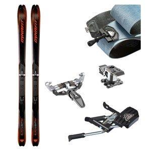 Skialpové lyže DYNAFIT Blacklight 80 s pásmi + viazanie s brzdami Superlite 150