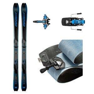 Skialpové lyže DYNAFIT Blacklight 88 s pásmi + viazanie s brzdami Superlite 150