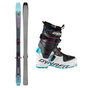 Skialpové lyže DYNAFIT Radical 88 W s pásmi a viazaním Radical + lyžiarky Speed W