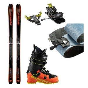 Skialpové lyže DYNAFIT Blacklight 80 s pásmi + viazanie s brzdami Superlite 175 Z12 + lyžiarky Seven Summits