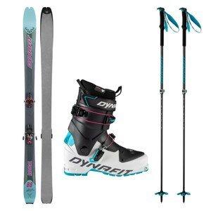Skialpové lyže DYNAFIT Radical 88 W s pásmi a viazaním Radical + lyžiarky Speed W + palice Tour Vario 2.0