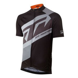 Cyklistický dres KTM Factory Line Black Čierna 3XL