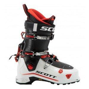 Skialpinistické lyžiarky SCOTT Cosmos Black/Red Červená 27.0