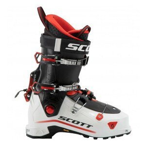 Skialpinistické lyžiarky SCOTT Cosmos Black/Red Červená 31.5