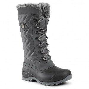 Obuv CMP Nietos Woman Snow Boots Grey Sivá 38