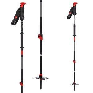 Skialpové palice BLACK DIAMOND Traverse Červená 95-145 cm