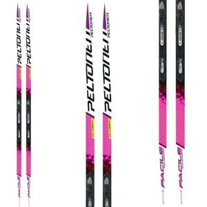 Bežecké lyže PELTONEN Facile W Nanogrip NIS Universal Pink 195 cm