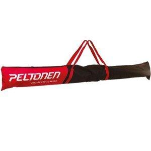 Vak na lyže PELTONEN 1 až 2 páry Červená
