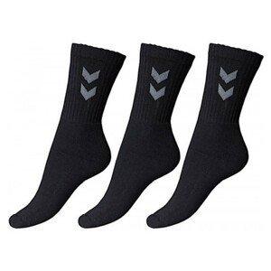 Ponožky HUMMEL Basic 3-pack Čierna 45-48