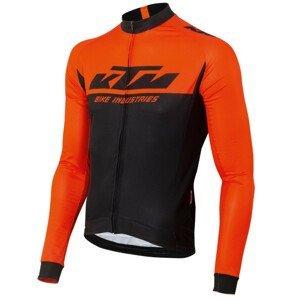 Cyklistický dres KTM Factory Team Renntrikot Čierna L