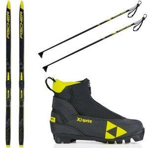 Bežecký set FISCHER Sprint Skin JR + topánky + palice