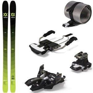 Skialpinistický set Volkl Rise 80 s pásmi a viazaním Marker Alpinist 8 150 cm