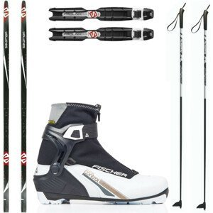 Dámsky bežkový set SALOMON Snowscape 9 Skin so stúpacím pásom + viazanie + obuv + palice