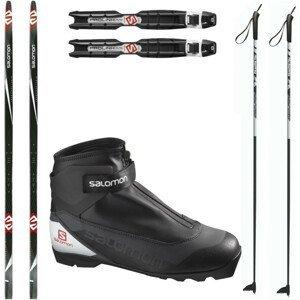Bežkový set SALOMON Snowscape 9 Skin so stúpacím pásom + viazanie + obuv + palice